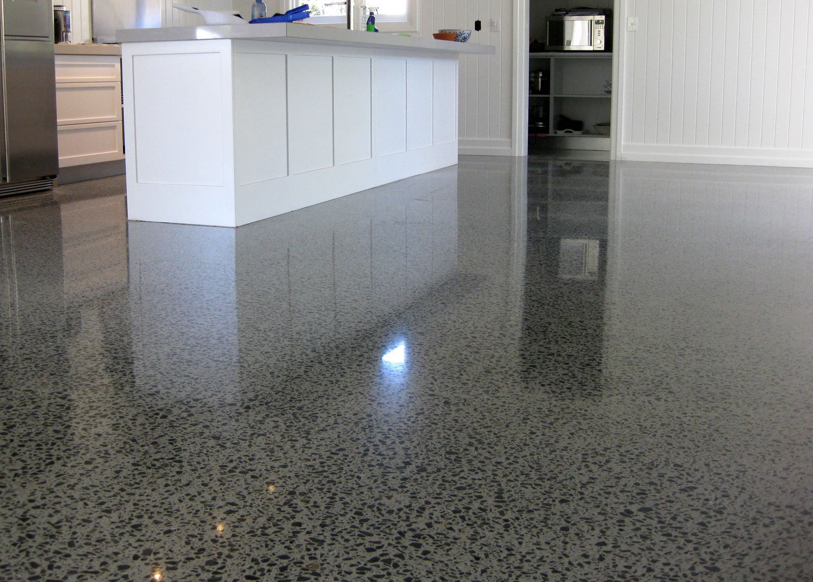 Concrete polishing in toronto on jcmc for How to clean polished floors